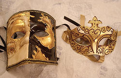 his and hers masquerade ball masks